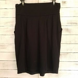 BCBG | Pleated pencil skirt